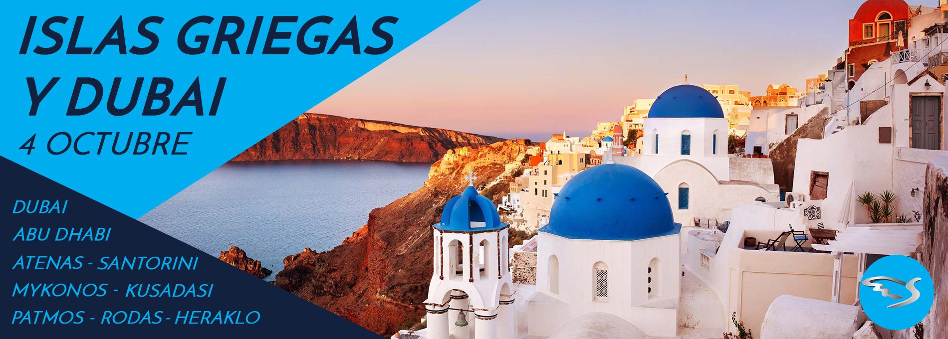 Islas de Grecia y Dubai
