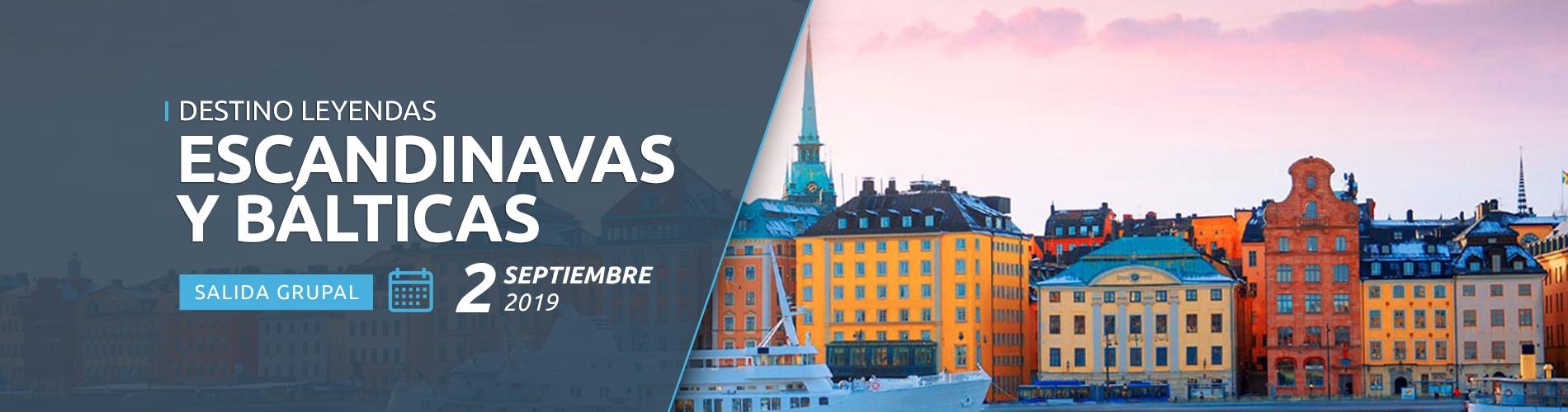 Salida Grupal 02 de septiembre de 2019 - Destino Leyendas Escandinavas y Báltica